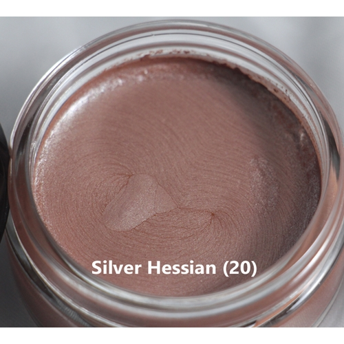 Cosmic Shimmer SILVER HESSIAN Metallic Gilding Polish With Applicator 912797 Preview Image