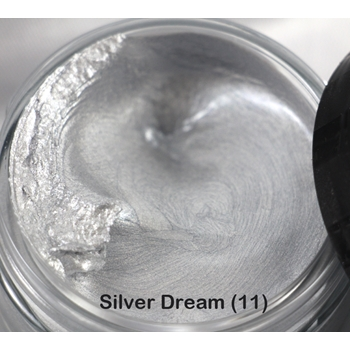 Cosmic Shimmer SILVER DREAM Metallic Gilding Polish With Applicator 911868