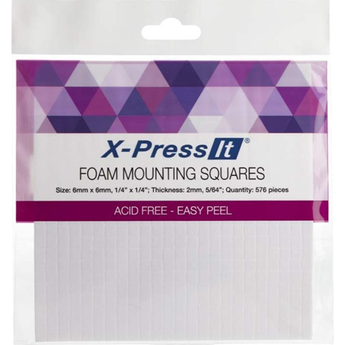 Copic Marker X-Press It FOAM MOUNTING SQUARES 1/4 X 1/4 Inch FTS6 Preview Image