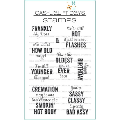 CAS-ual Fridays FRANKLYISMS Clear Stamps CFS1707 Preview Image