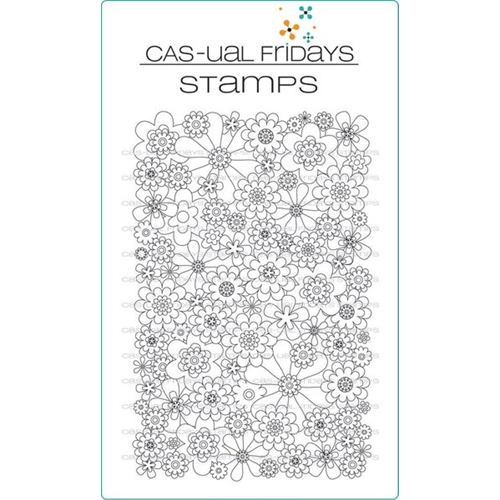 CAS-ual Fridays FULL ON FLORAL Clear Stamps CFS1702 Preview Image