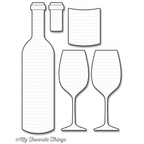 My Favorite Things WINE SERVICE Die-Namics MFT1046 Preview Image