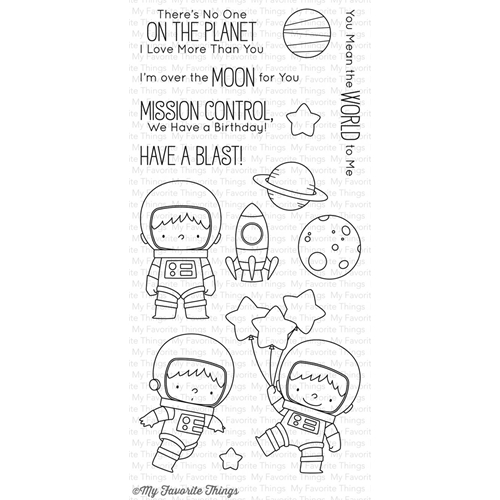 My Favorite Things SPACE EXPLORER Clear Stamps BB43 Preview Image