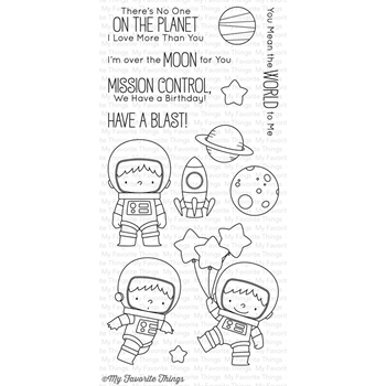 My Favorite Things SPACE EXPLORER Clear Stamps BB43