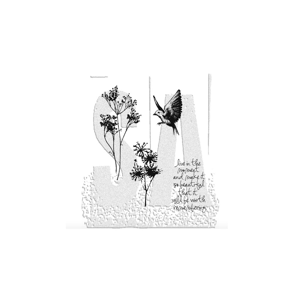 Tim Holtz Cling Rubber Stamps NATURE'S MOMENTS CMS001 zoom image