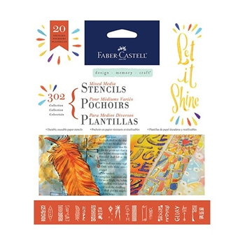 Faber-Castell 302 COLLECTION Faith Stencil Set 770604*