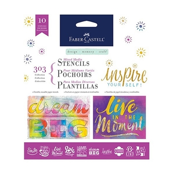 Faber-Castell 303 COLLECTION Inspiration Stencil Set 770605*