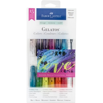 Faber-Castell IRIDESCENTS 15 PIECE GELATOS Set 770175*