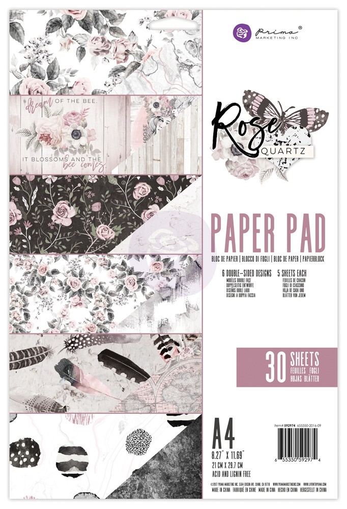 Prima Marketing A4 Paper Pad ROSE QUARTZ 592974 zoom image