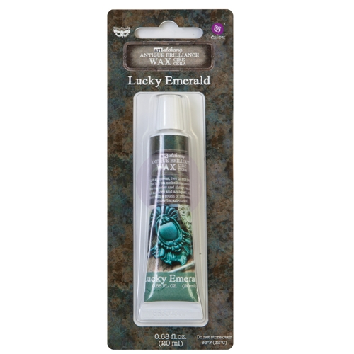Prima Marketing LUCKY EMERALD Finnabair Art Alchemy Brilliance Wax 964344 Preview Image