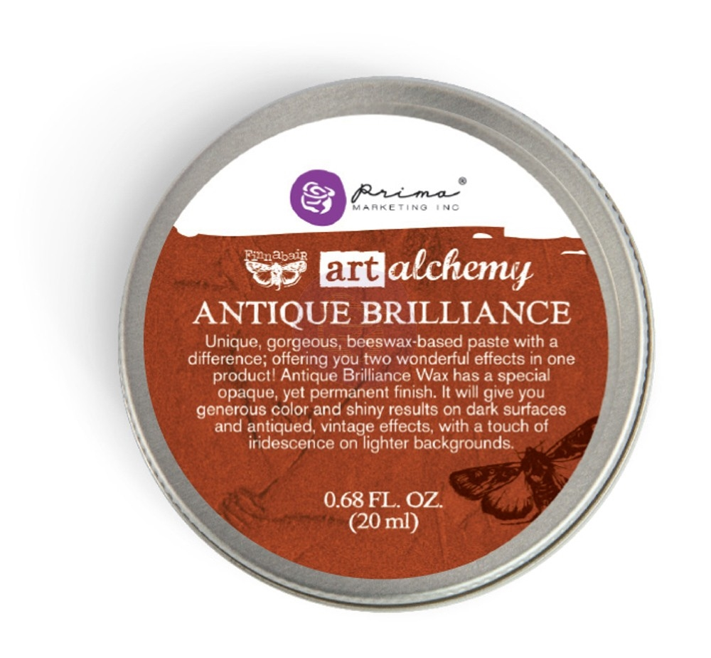 Prima Marketing RED AMBER Art Alchemy Brilliance Wax 964313 zoom image