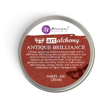 Prima Marketing FIRE RUBY Art Alchemy Brilliance Wax 964306