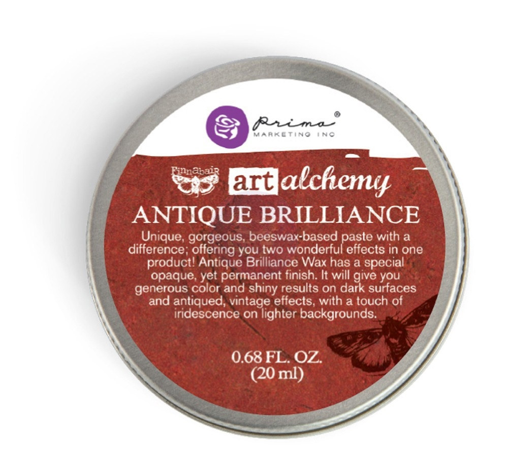 Prima Marketing FIRE RUBY Art Alchemy Brilliance Wax 964306 zoom image