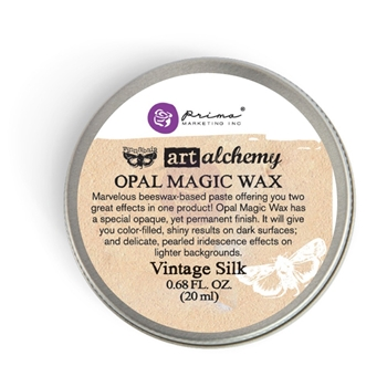 Prima Marketing VINTAGE SILK Art Alchemy Opal Magic Wax 964283