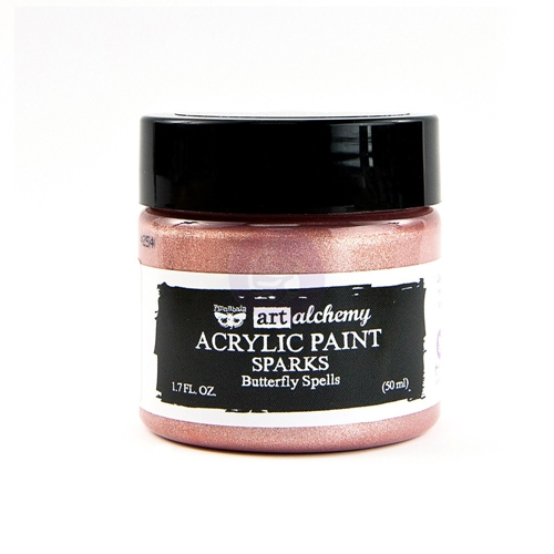 Prima Marketing SPARKS BUTTERFLY SPELLS Art Alchemy Acrylic Paint 964122 Preview Image