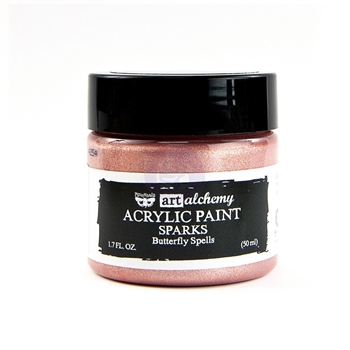 Prima Marketing SPARKS BUTTERFLY SPELLS Art Alchemy Acrylic Paint 964122
