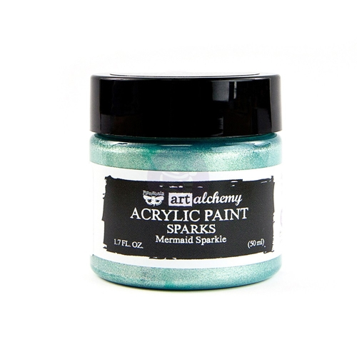 Prima Marketing SPARKS MERMAID SPARKLE Art Alchemy Acrylic Paint 964085 Preview Image