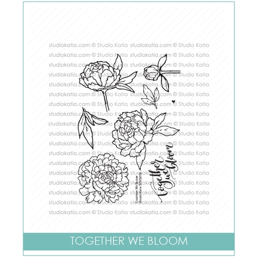Studio Katia TOGETHER WE BLOOM Clear Stamps STKS018* Preview Image