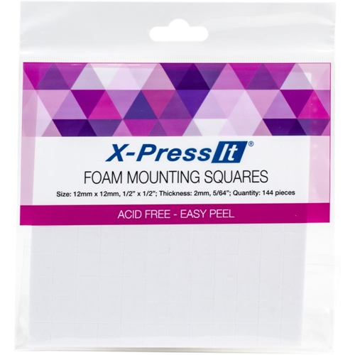 Copic Marker X-Press It FOAM MOUNTING SQUARES 1/2 X 1/2 Inch FTS12 Preview Image