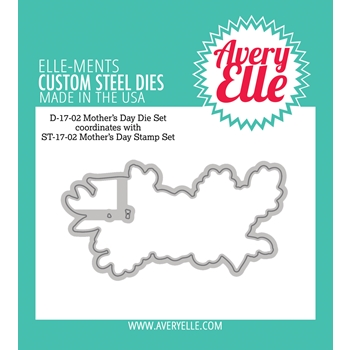 Avery Elle Steel Dies MOTHERS DAY Die Set D-17-02*