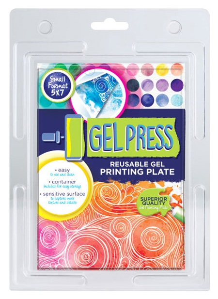 Gel Press 5 x 7 REUSABLE GEL PRINTING PLATE 10810 zoom image