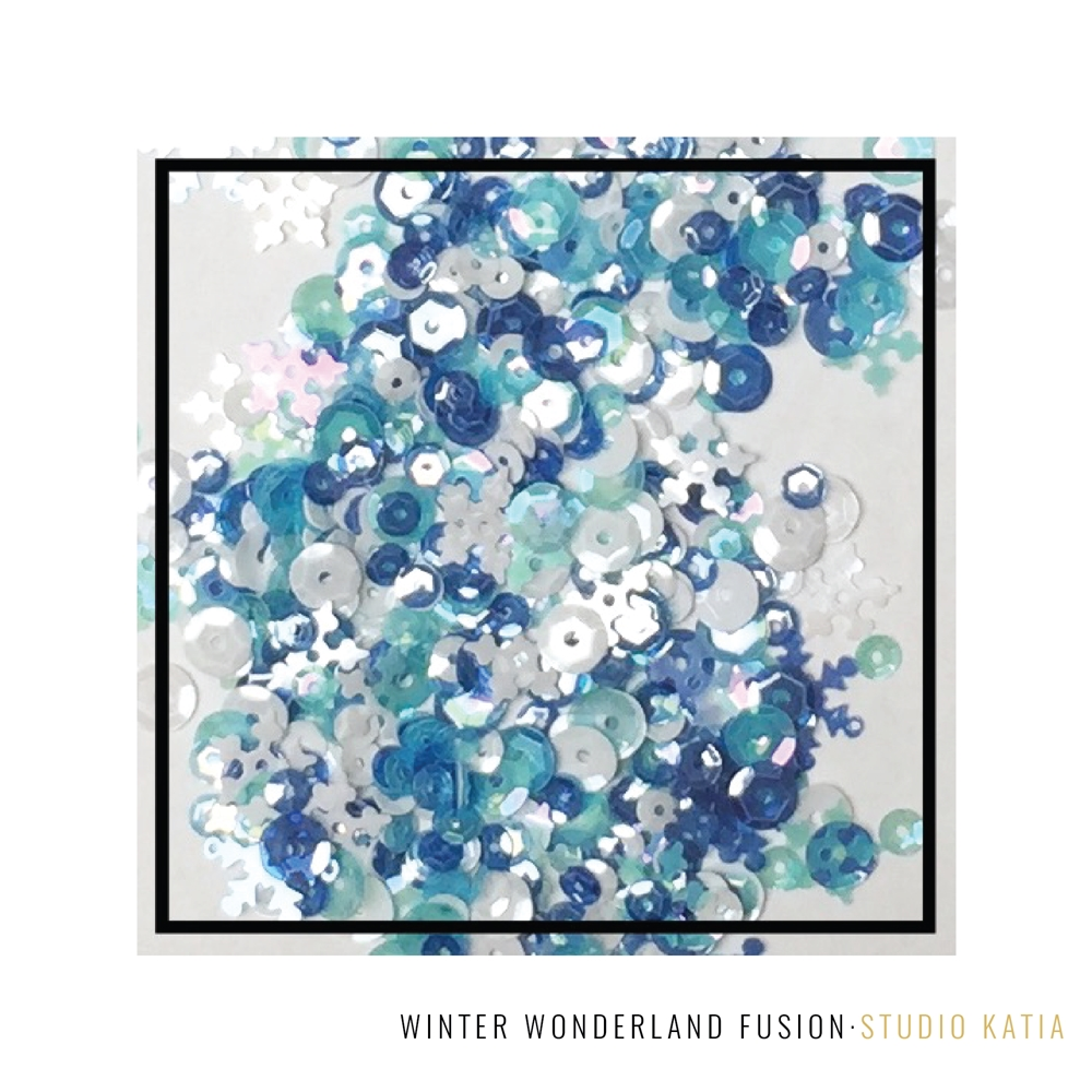 Studio Katia WINTER WONDERLAND Fusion Sequins SK2822 zoom image