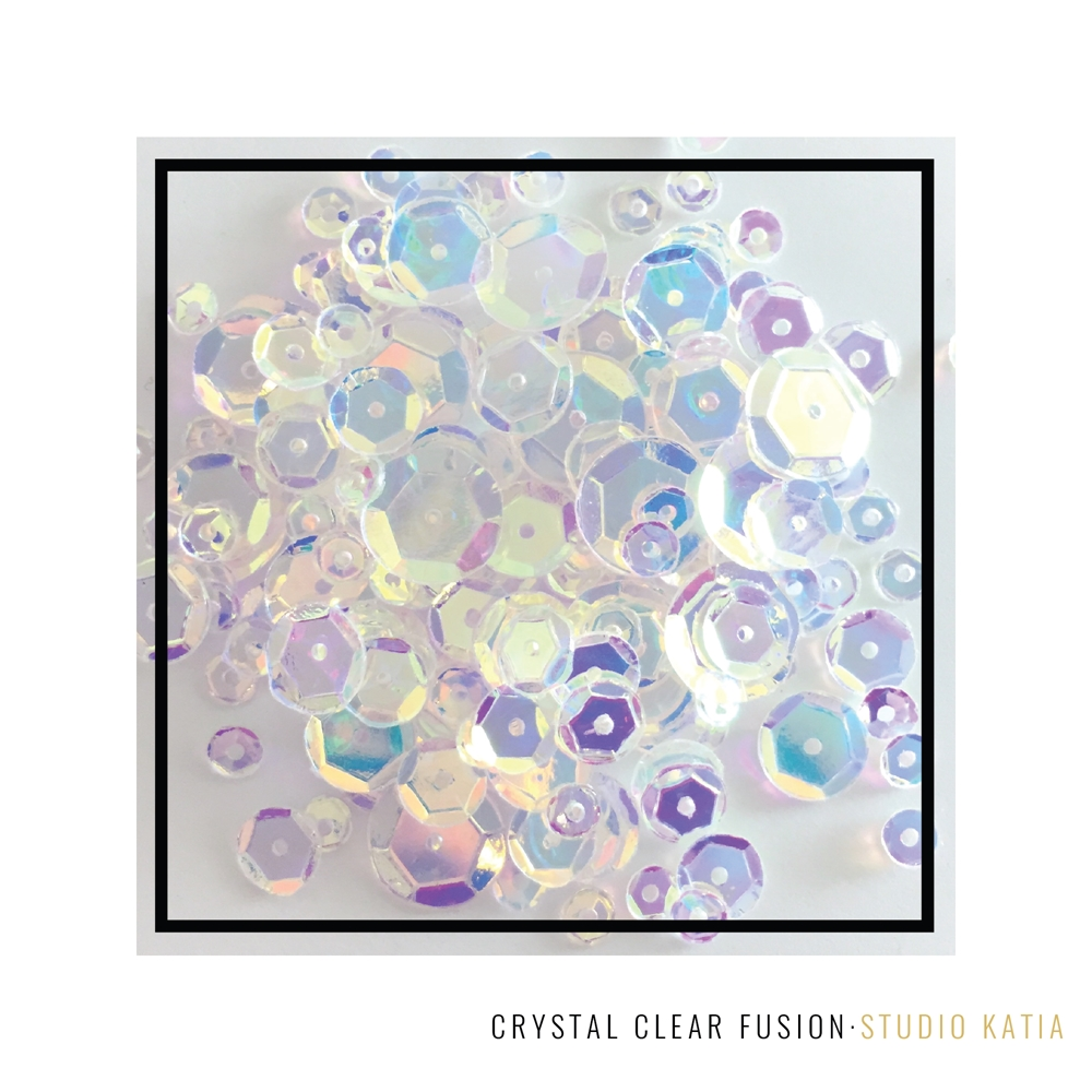Studio Katia CRYSTAL CLEAR Fusion Sequins SK2820 zoom image