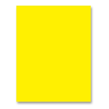 Simon Says Stamp Cardstock 100# BRIGHT YELLOW BY34