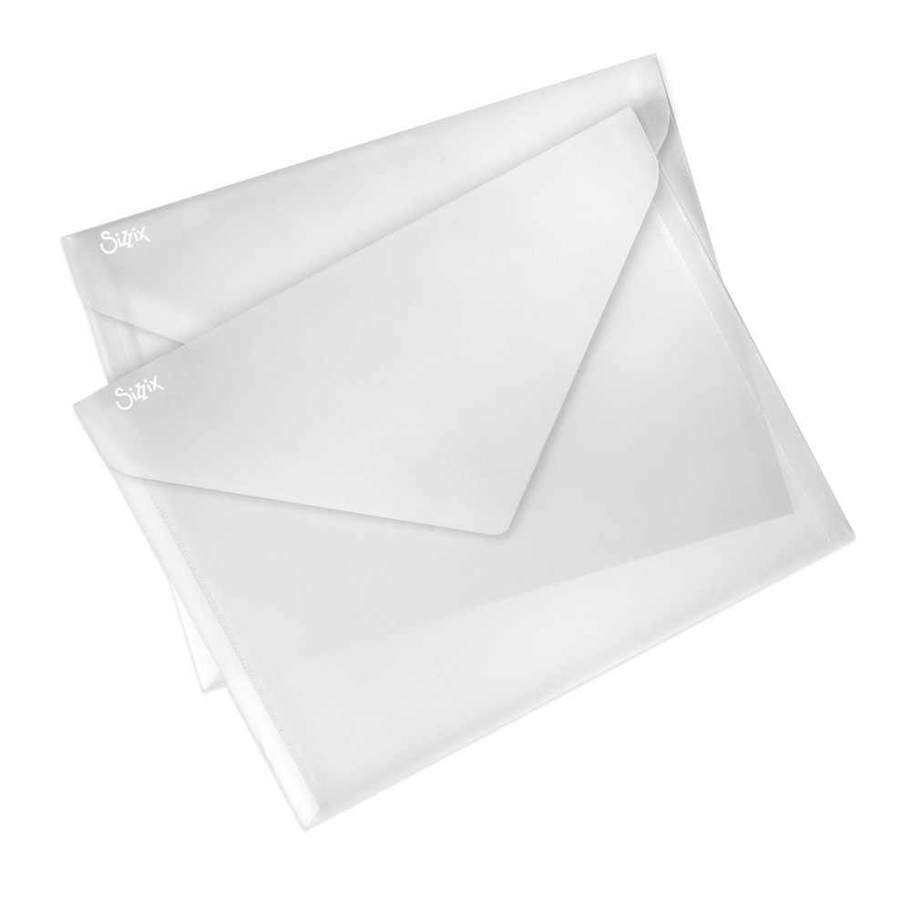 Sizzix PLASTIC STORAGE ENVELOPES 662146 zoom image
