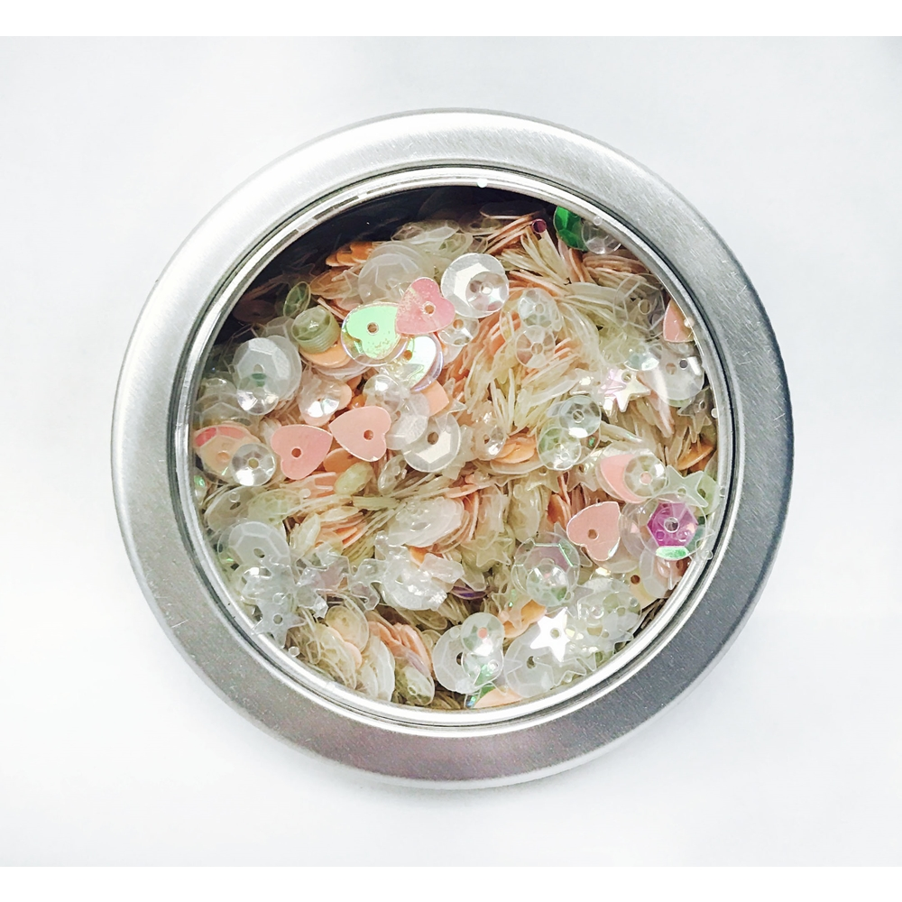 28 Lilac Lane FAIRY SPARKLE Sequin Tin LL308 zoom image