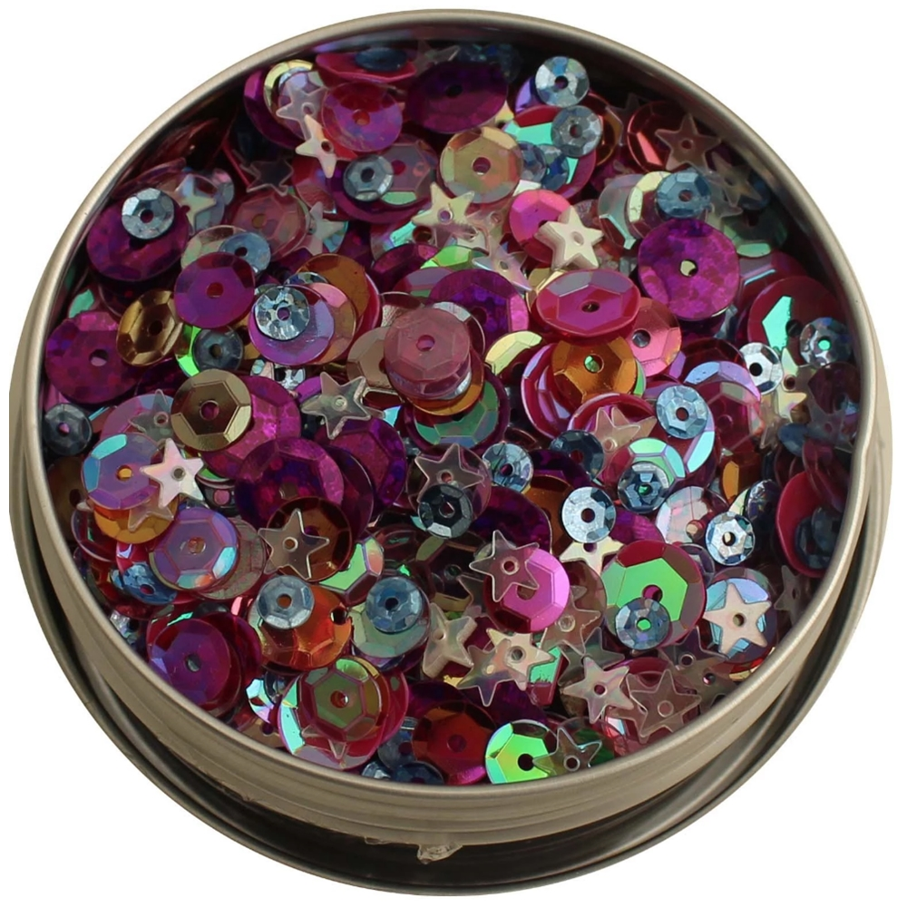 28 Lilac Lane MIXED BERRY Sequin Tin LL313 zoom image