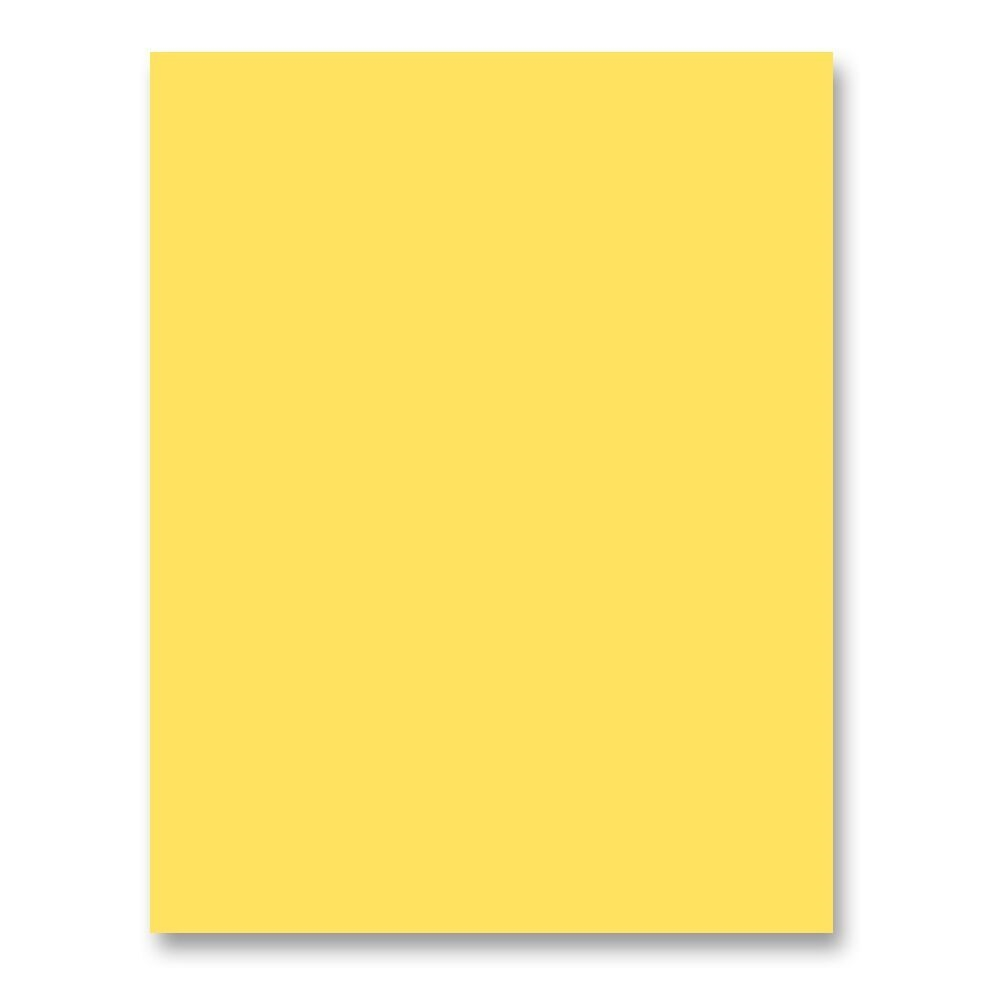 Simon Says Stamp Card Stock 100# BANANA Yellow B32 zoom image