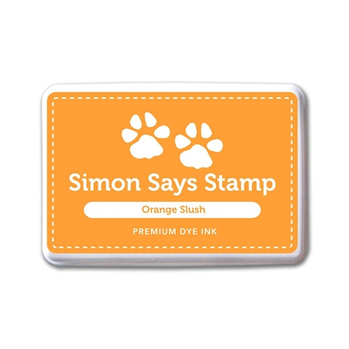 Simon Says Stamp Premium Dye Ink Pad ORANGE SLUSH Ink079 Preview Image