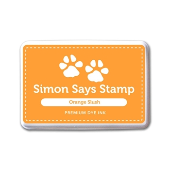 Simon Says Stamp Premium Dye Ink Pad ORANGE SLUSH Ink079
