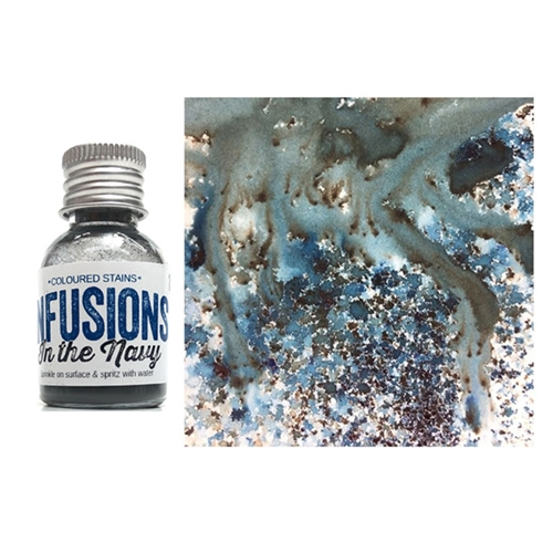 Paper Artsy IN THE NAVY Infusions Colored Stain CS15 Preview Image