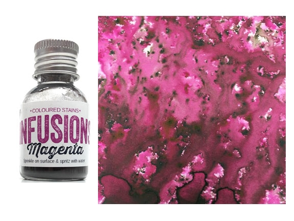Paper Artsy MAGENTA Infusions Colored Stain CS23 zoom image