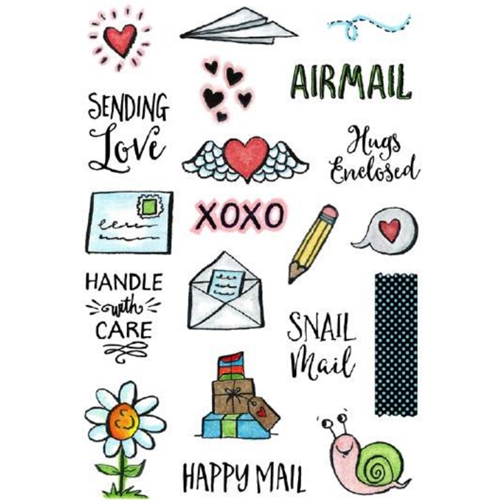 Inky Antics ENVELOPE ELEMENTS Clear Stamp Set 11356MC Preview Image