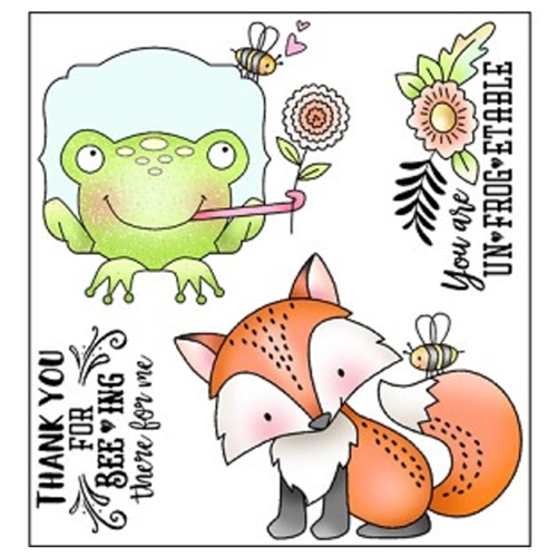 Darcie's BEEING THERE Clear Polymer Stamp Set POL346 Preview Image
