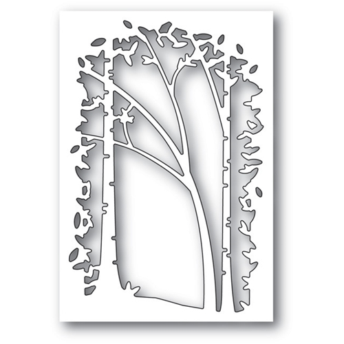 Memory Box SAPLING COLLAGE Craft Die 99738 Preview Image