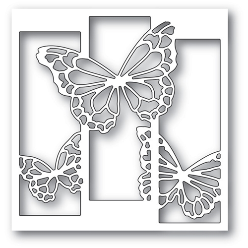 Memory Box BUTTERFLY SPECTACLE Craft Die 99735 Preview Image
