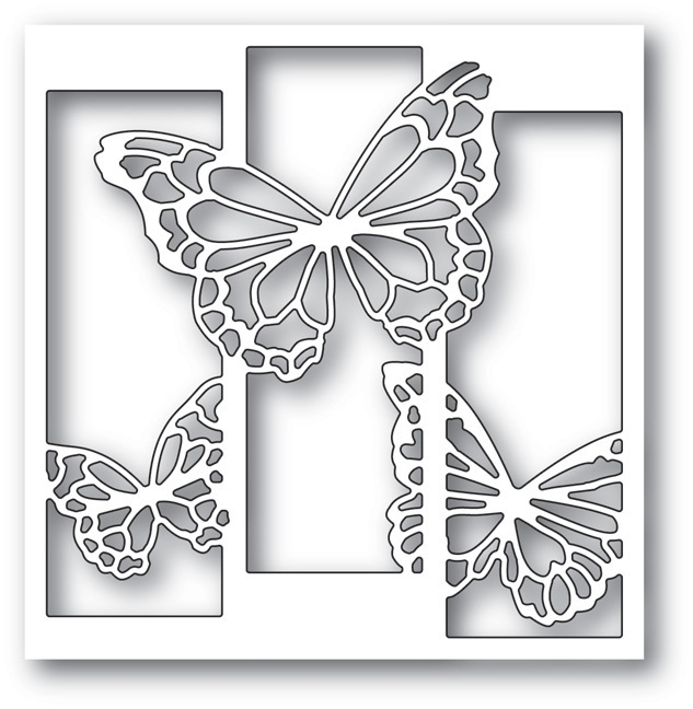 Memory Box BUTTERFLY SPECTACLE Craft Die 99735 zoom image