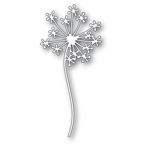 Poppy Stamps DANDELION STEM Craft Die 1809 Preview Image