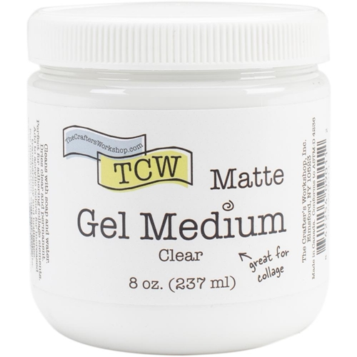 The Crafter's Workshop CLEAR GEL MEDIUM MATTE TCW9011 Preview Image