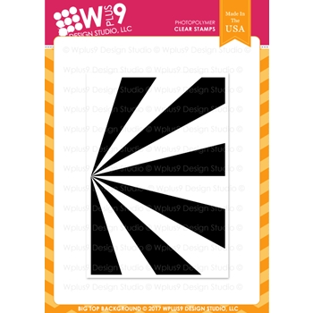 Wplus9 BIG TOP BACKGROUND Clear Stamp CLWP9BTB