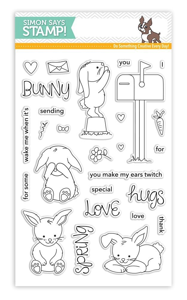 Simon Says Clear Stamps SOME BUNNY SPECIAL SSS101716 New Beginnings zoom image