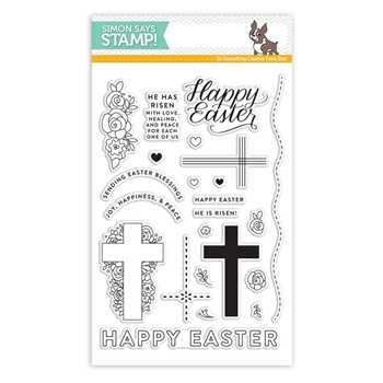 Simon Says Clear Stamps HAPPY EASTER SSS101730 New Beginnings