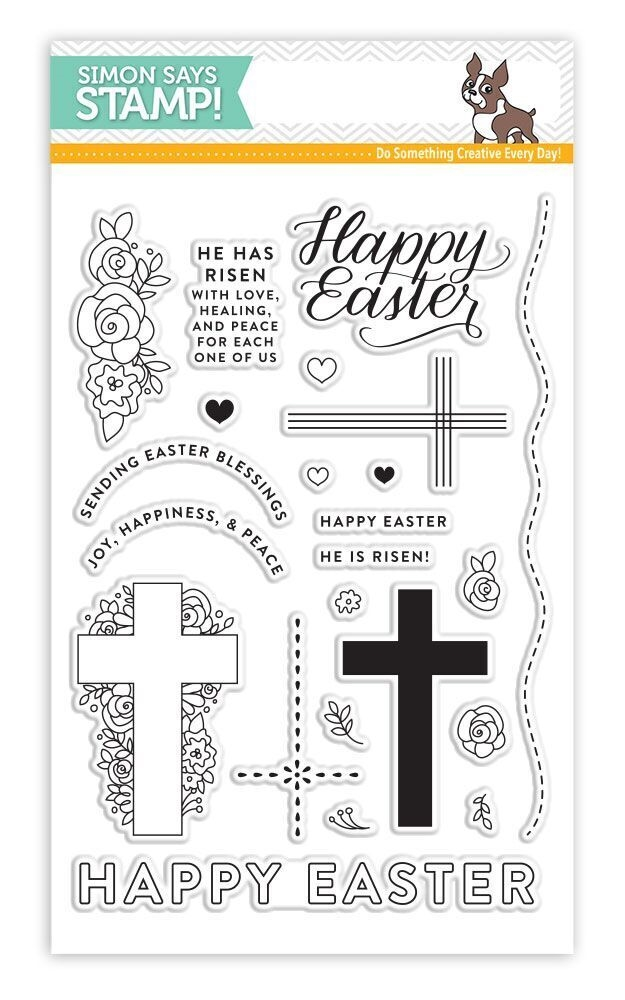 Simon Says Clear Stamps HAPPY EASTER SSS101730 New Beginnings * zoom image