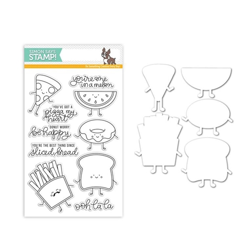 Simon Says Stamps And Dies FUNNY FOOD Set289FF New Beginnings * Preview Image