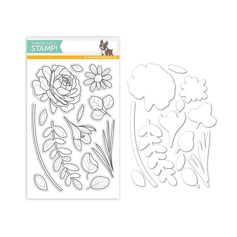 Simon Says Stamps And Dies MORE SPRING FLOWERS Set293MSF New Beginnings zoom image