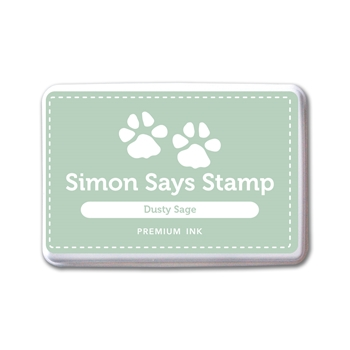 Simon Says Stamp Premium Dye Ink Pad DUSTY SAGE INK081 New Beginnings